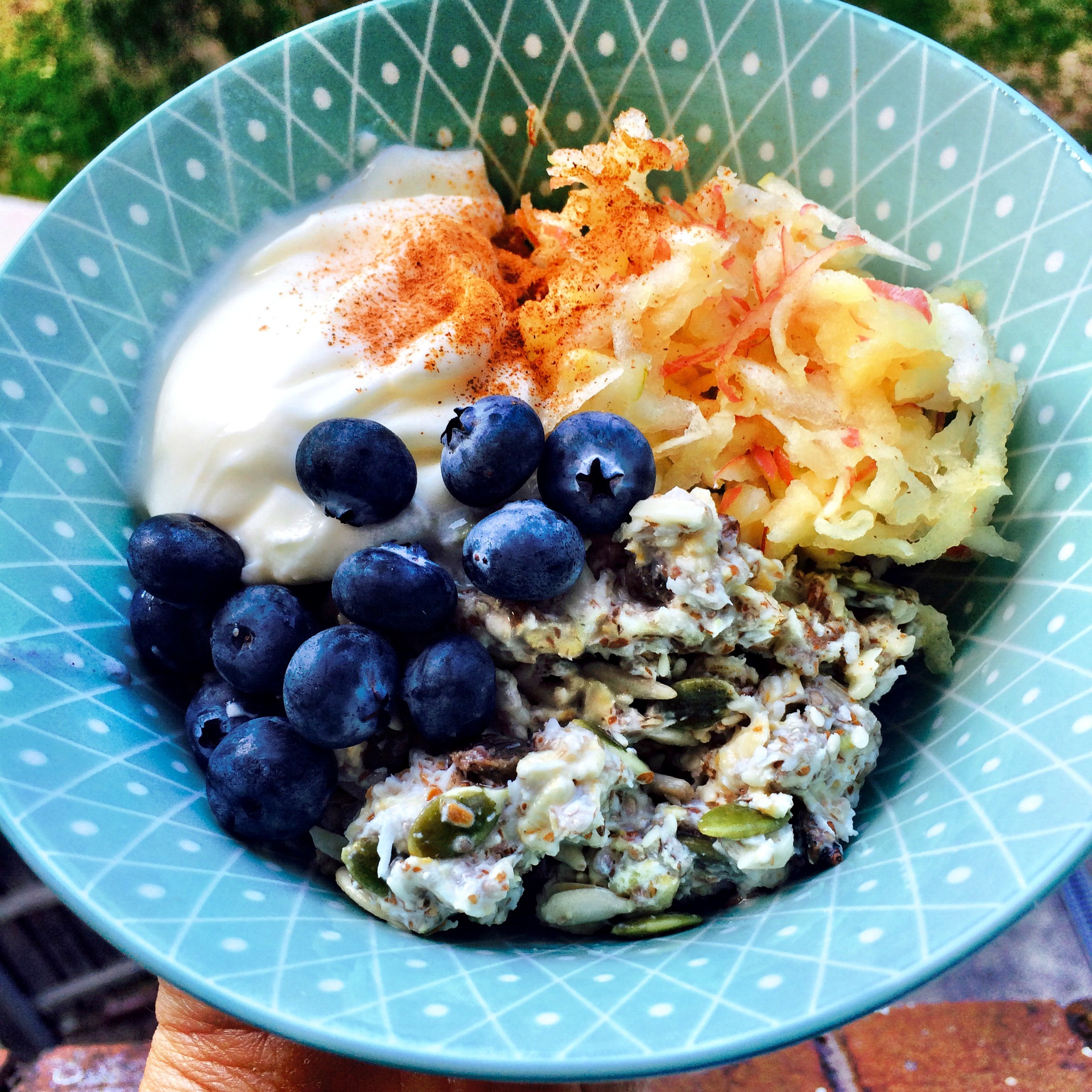 Delicious bircher muesli –  by Amy McKendrick