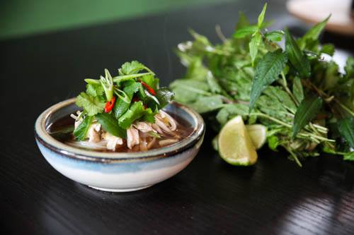 Warming and Energising Chicken Pho