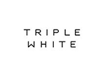 triple white logo